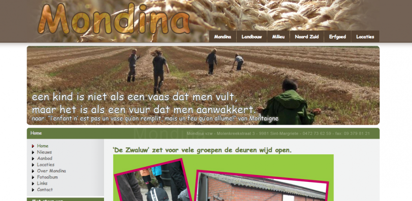 Educatief project Mondina